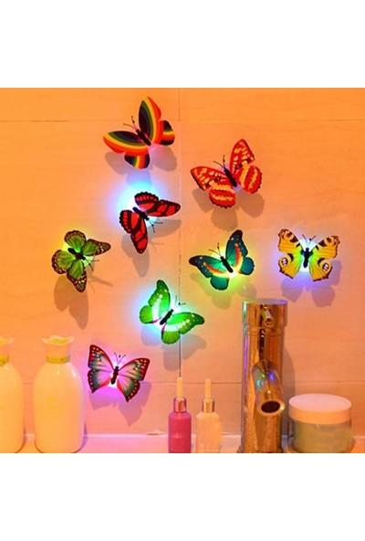 GOB2C Kelebek Desenli LED Gece Lambası