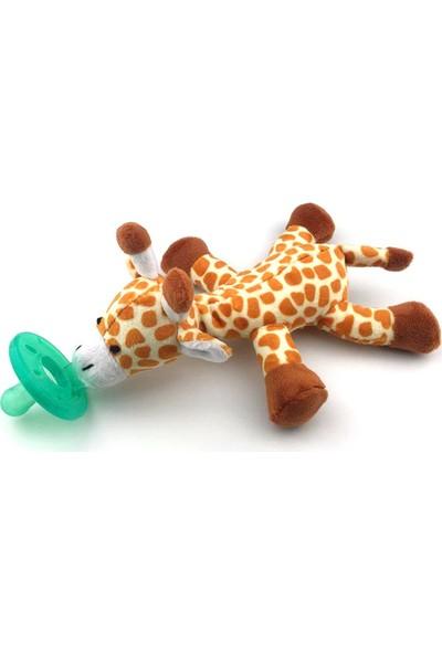 Play Seba Sevimli Zürafa Peluş Emzik