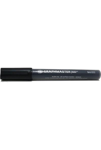 Graphmaster Akrilik Paınt 2-3Mm S Black