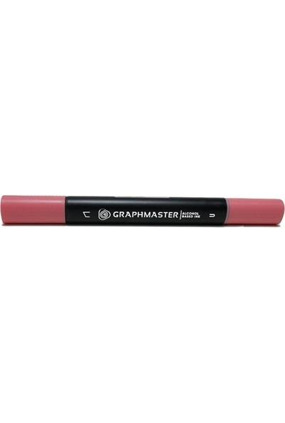 Graphmaster Alcohol Based Ink Markör Coral Pınk