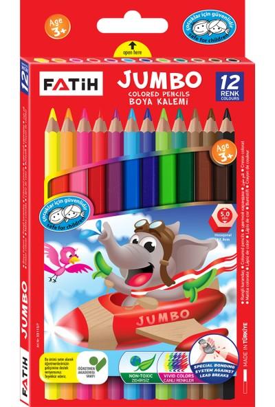 Fatih Jumbo Boya Kalemi 12 Renk Tam Boy FA33340KB12RTB