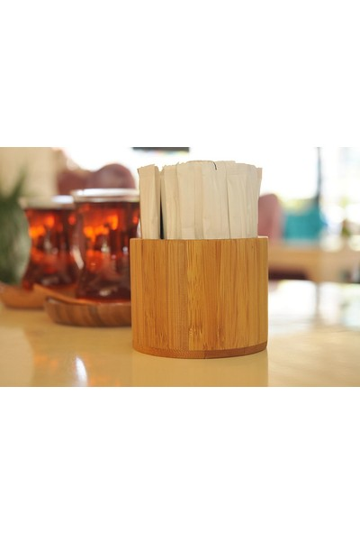 Bambum Canoli Stick Lüx Bambu Şekerlik