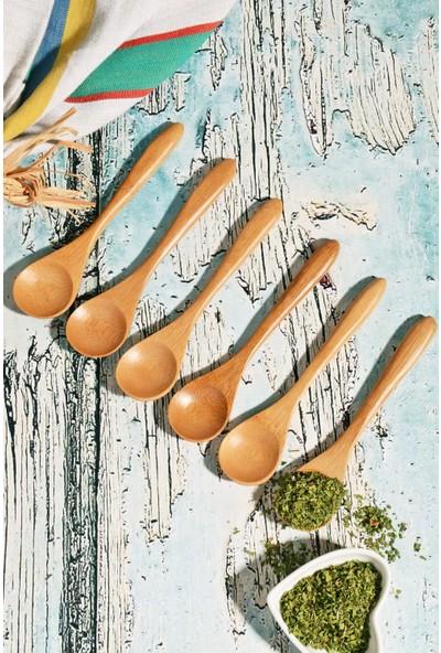 MHK Collection Bambu Lüx 6'lı Baharat Kaşık Seti