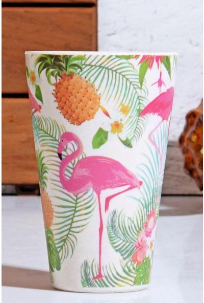 MHK Collection Filamingo Serisi Bambu Fiber Kupa Bardak