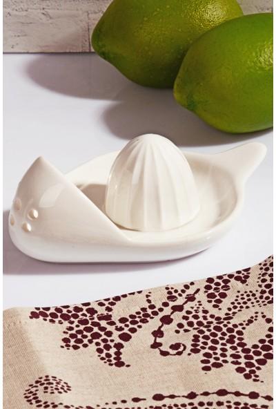 MHK Collection Porselen Limon Sıkacağı