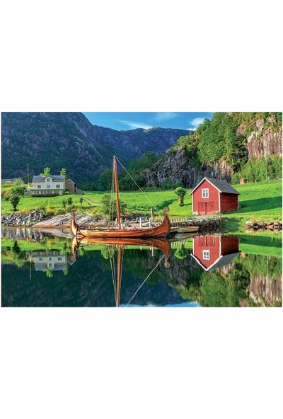 Educa Puzzle 1500 Parça Viking Ship 18006