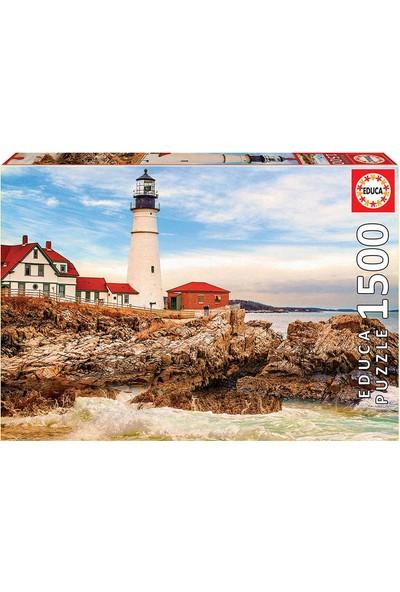 Educa Puzzle 1500 Parça Rocky Lighthouse 17978