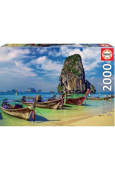 Educa Puzzle 2000 Parça Krabi Thailand 18007