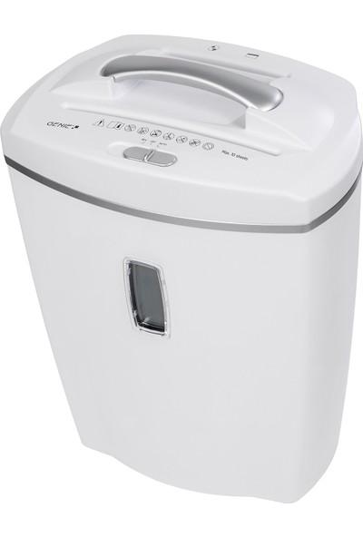 Genie 580Xcd Çapraz Kesim Evrak İmha Makinesi ( Beyaz )