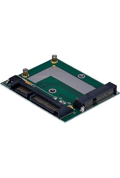 Alfais 5137 Msata (Mini Sata) Ssd To Sata Çevirici Dönüştürücü Adaptör