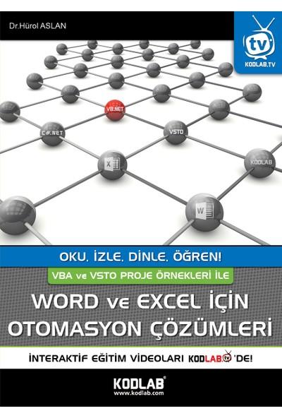 Word Ve Excel İçin Otomasyon Çözümleri - Hürol Aslan