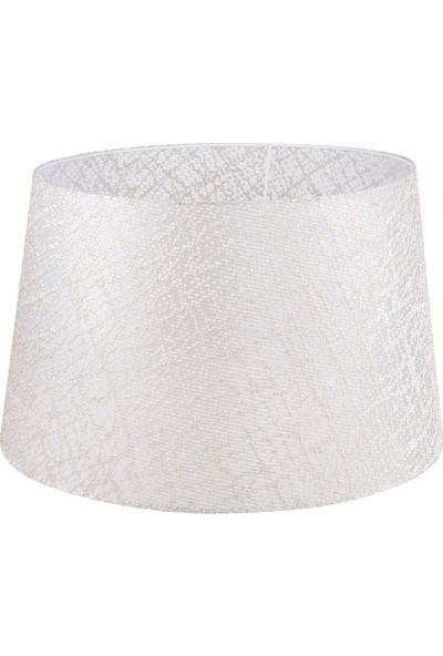 Modelight Mode Light File Desenli Lambader Şapkası Krem
