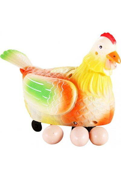 Cerita Cita Yumurtlayan Tavuk Funny Hen Sesli Işıklı
