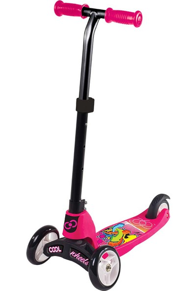 Furkan Toys Cool Wheels 2in1 Scooter Pembe