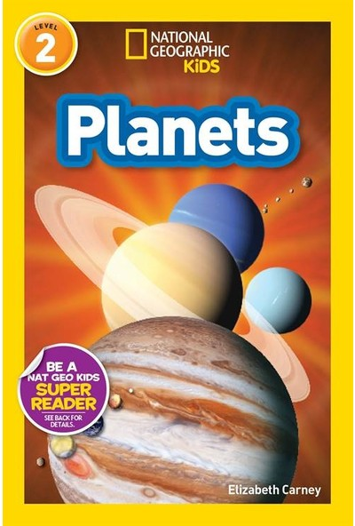 National Geographic Readers: Planets - Elizabeth Carney