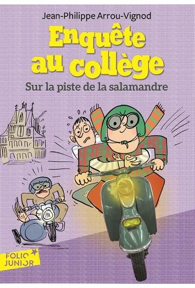 Enquete au college 4: Sur la piste de la salamandre - Jean-Philippe Arrou-Vignod