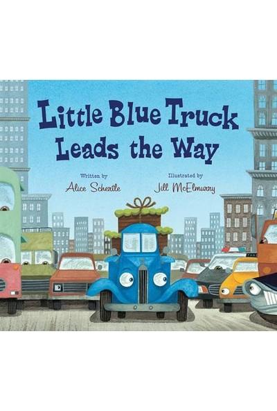 Little Blue Truck Leads The Way (Board Book) - Alice Schertle
