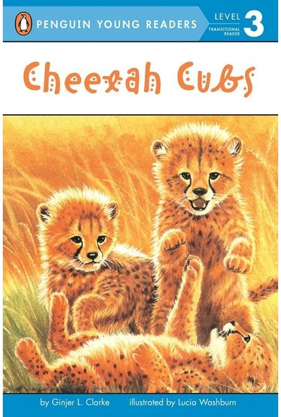 Cheetah Cubs (Young Readers, Level 3) - Ginjer L. Clarke