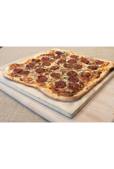 Cici Pizza Taşı Fırın Taşı 35x35x1.5 cm