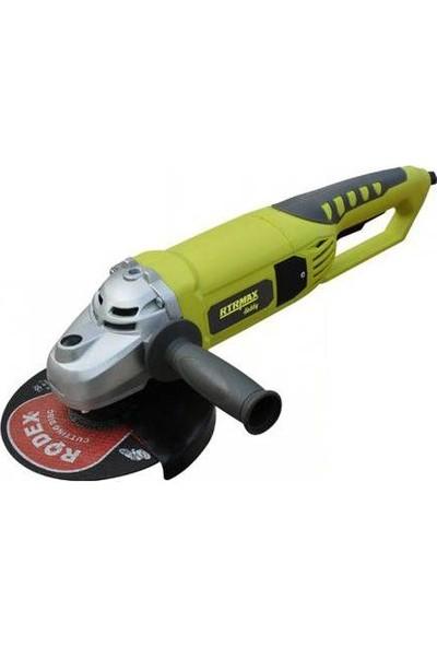 Rtrmax RTH126 230 mm Taşlama Makinası 2150 W Max. Performans 2600 W