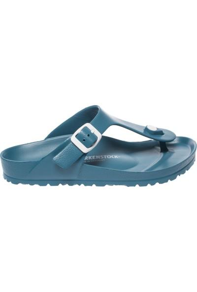Birkenstock Gizah Eva Parmak Arası Mavi Kadın Sandalet