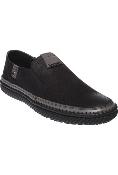 F.marcetti 65805 Günlük Klasik Siyah Erkek Ayakkabı