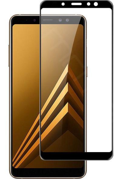 Engo Samsung Galaxy A6 Plus 5D Yeni Nesil Tam Kaplama Temperli Ekran Koruyucu Cam