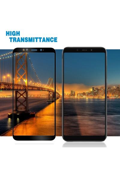 Engo Xiaomi Mi A2 Kavisli Tam Kaplama 5D Full Cover Ekran Koruyucu Cam