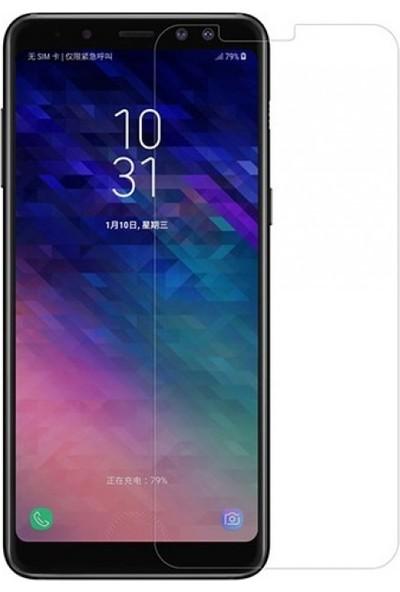 Engo Samsung Galaxy A8 Plus 2018 Nano Flexible Esnek 9H Temperli Ekran Koruyucu Cam