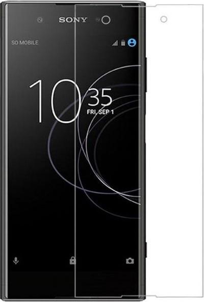 Engo Sony Xperia XA1 Plus Nano Flexible Esnek 9H Temperli Ekran Koruyucu Cam