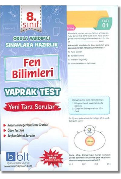 Bulut 8. Sınıf Fen Bilimleri Yaprak Test