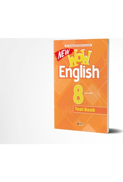 Master 8. Sınıf Wow English Test Book
