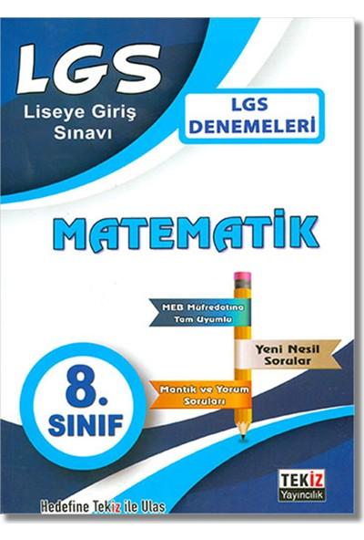 Tekiz 8. Sınıf LGS Matematik Denemeleri