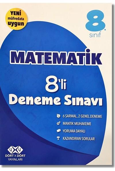 4 x 4 8. Sınıf Matematik 8'li Deneme Sınavı