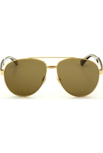 Gucci GG0054S 002 61 Unisex Güneş Gözlüğü