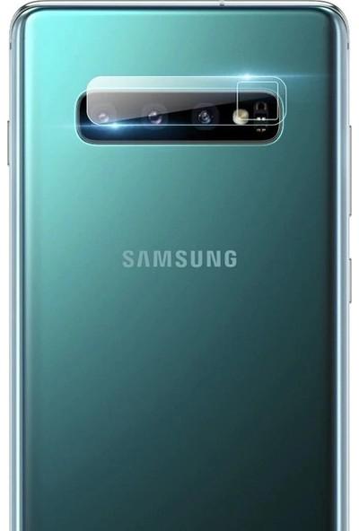 Aliveristime Samsung Galaxy S10 Arka Kamera Koruyucusu