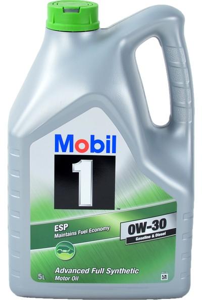 Mobil 1 Esp 0W-30 5 lt Benzinli Dizel Motor Yağı