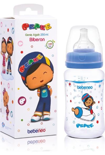 Bebe Neo Pepee Mavi 250 ml Biberon