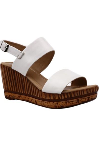Venüs 1911603Y Kadın Sandalet Ayakkabı Beyaz
