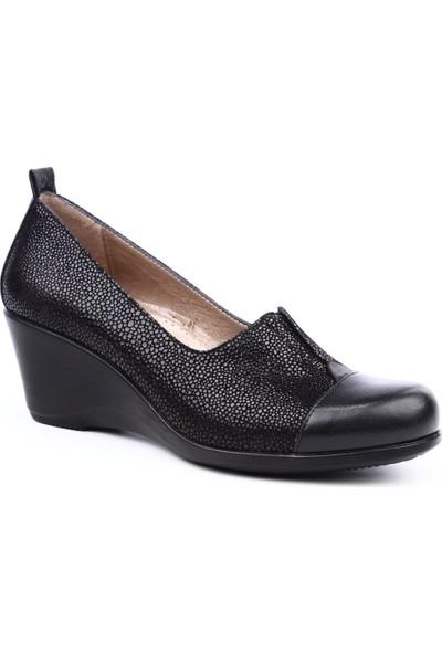 Venüs 1928911Y Kadın Günlük Ayakkabı Siyah Garni