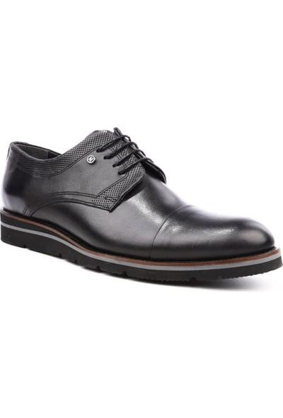 Dgn 6509 Erkek Casual Eva Ayakkabı Siyah Antik