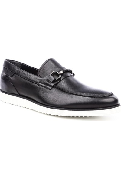 Dgn 6531 Erkek Eva Taban Casual Ayakkabı Siyah Yakma