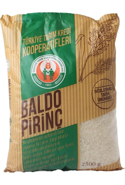 Türkiye Tarım Kredi Koop. Pirinç Baldo 2.5 kg
