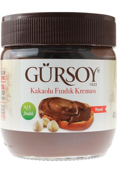 Gürsoy Kakaolu Fındık Kreması %15 fındık 400 gr