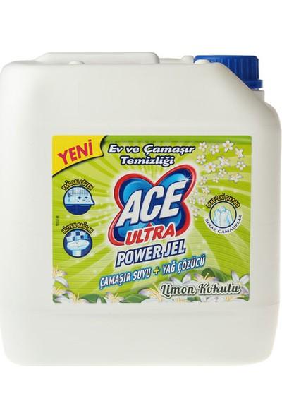 Ace Ultra Çamaşır Suyu Limon Kokulu 3 kg