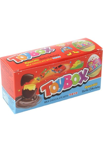 Toybox Oyuncaklı Yumurta 3X20 gr