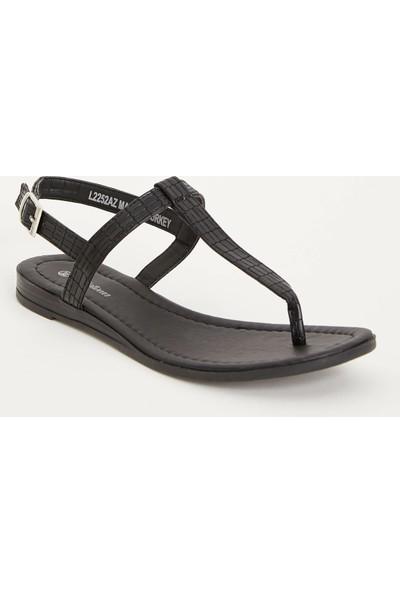 Defacto Dokulu Parmak Arası Sandalet
