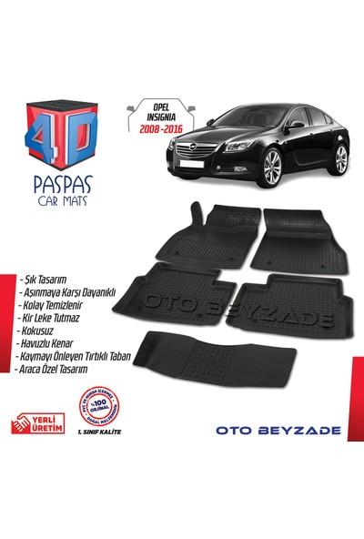 İtibar Opel Insignia 2008-2016 4d Kauçuk Paspas