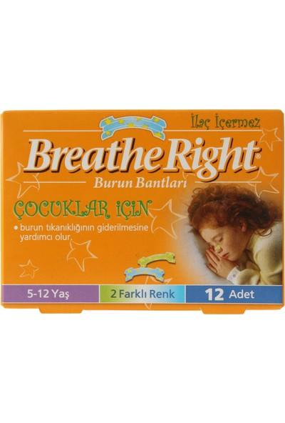 Breathe Right Burun Bandı Çocuklar için 12'li