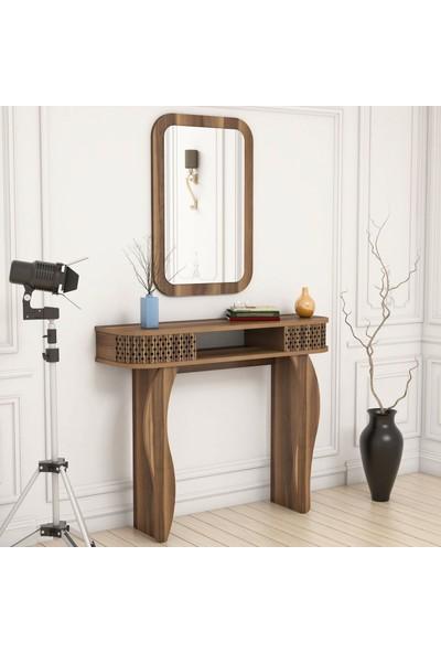 Variant Damla Aynalı Dresuar - Kahverengi